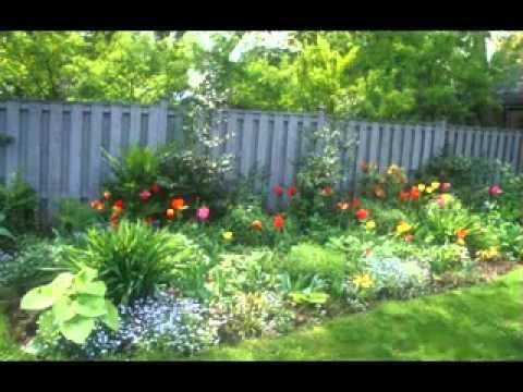 Flower Garden Layout Ideas   YouTube