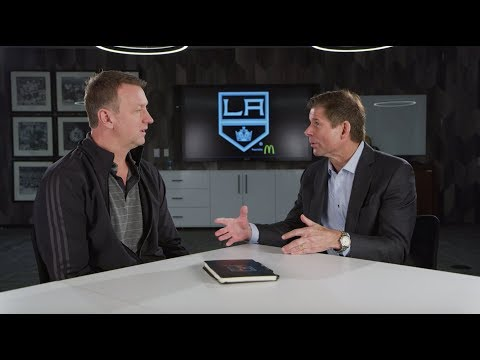 Rob Blake Sits Down with Jim Fox After Jake Muzzin Trade