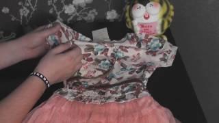 Товары из Китая #7  Детское платье, прокладки для подмышек(Здравствуйте всем!! Предлагаю вашему вниманию обзор посылки: Товары из Китая #7 Детское платье: http://www.aliexpress.c..., 2017-02-28T15:00:09.000Z)