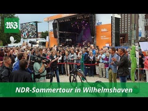NDR-Sommertour In Wilhelmshaven | Wilhelmshavener Zeitung