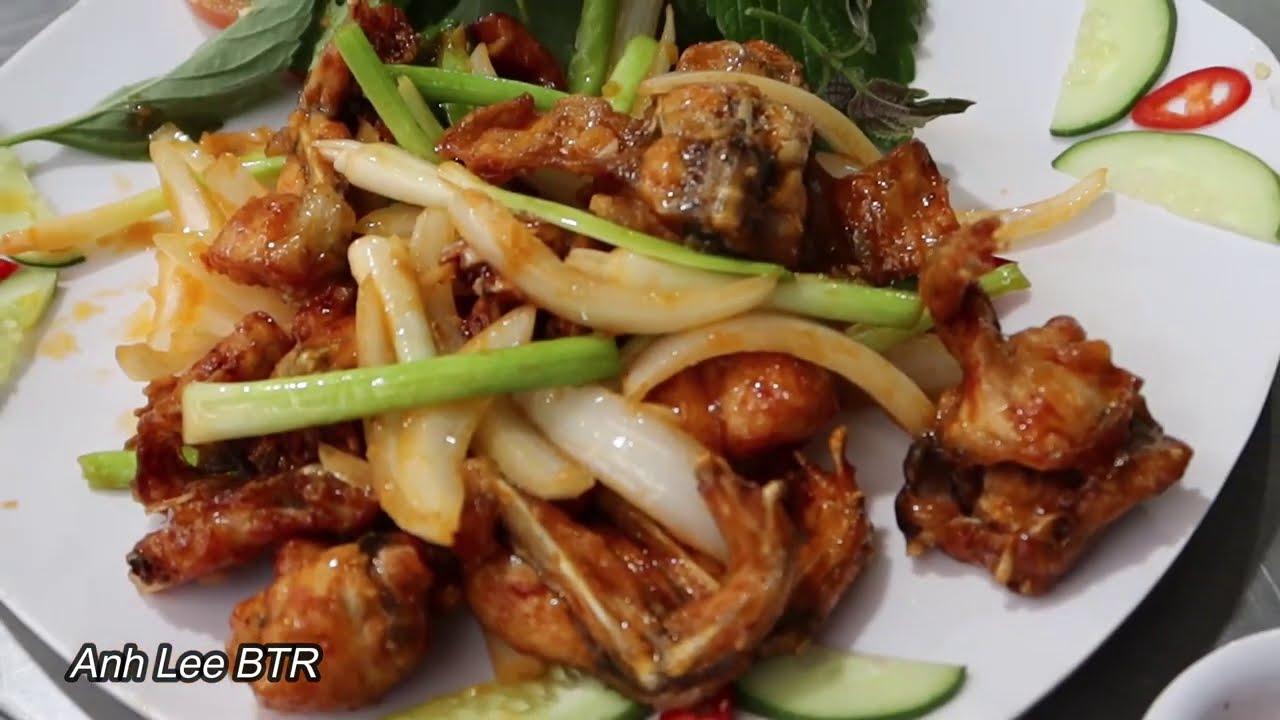 Cách Làm Ếch Chiên Nước Mắm Ngon Nhức Nhối | Vietnamese Food | Anh Lee BTR