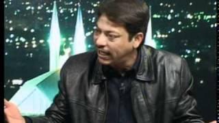 faisal raza abidi shouts and fights with shahzeb khanzada full show