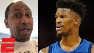 '76ers got a dog'- Stephen A. Smith on Jimmy Butler trade