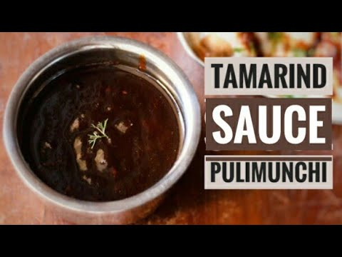 Tamarind Sauce, easy no heat, no cook side dish, pulimunchi, cooking without fire,mangalorean recipe