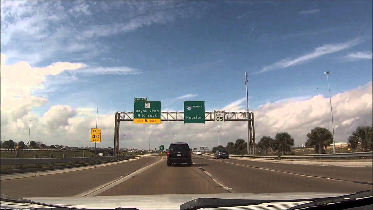 """""""Interstate 45 Texas - Galveston to Houston"""""""