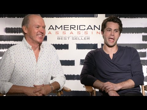 Dylan O'Brien and Michael Keaton interview for AMERICAN ASSASSIN