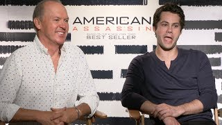 Video Dylan O'Brien and Michael Keaton interview for AMERICAN ASSASSIN download MP3, 3GP, MP4, WEBM, AVI, FLV September 2017