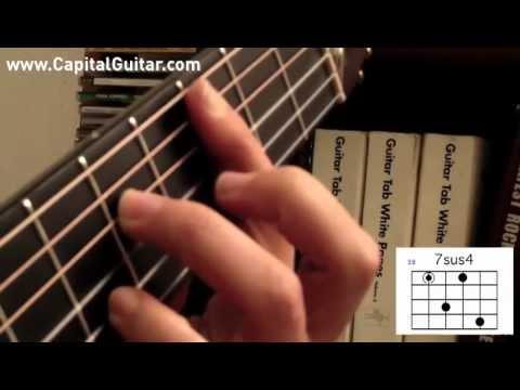 Bossa Nova Guitar Chords Pt 4 Sus Voicings Youtube