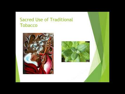 Sacred Circle of Tobacco Youth Curriculum