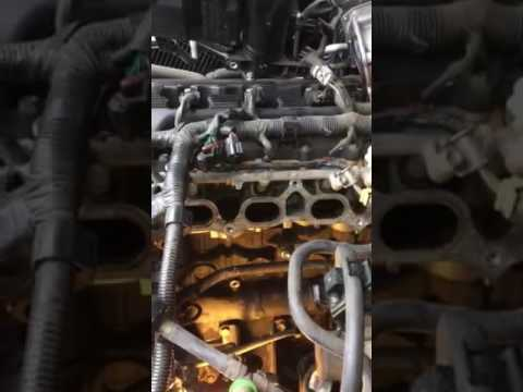 Water Bypass Pipe Leak 2005 Toyota Tacoma Part 4 Youtube