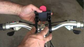 Jam-Pac Bicycle Speaker Bracket Install