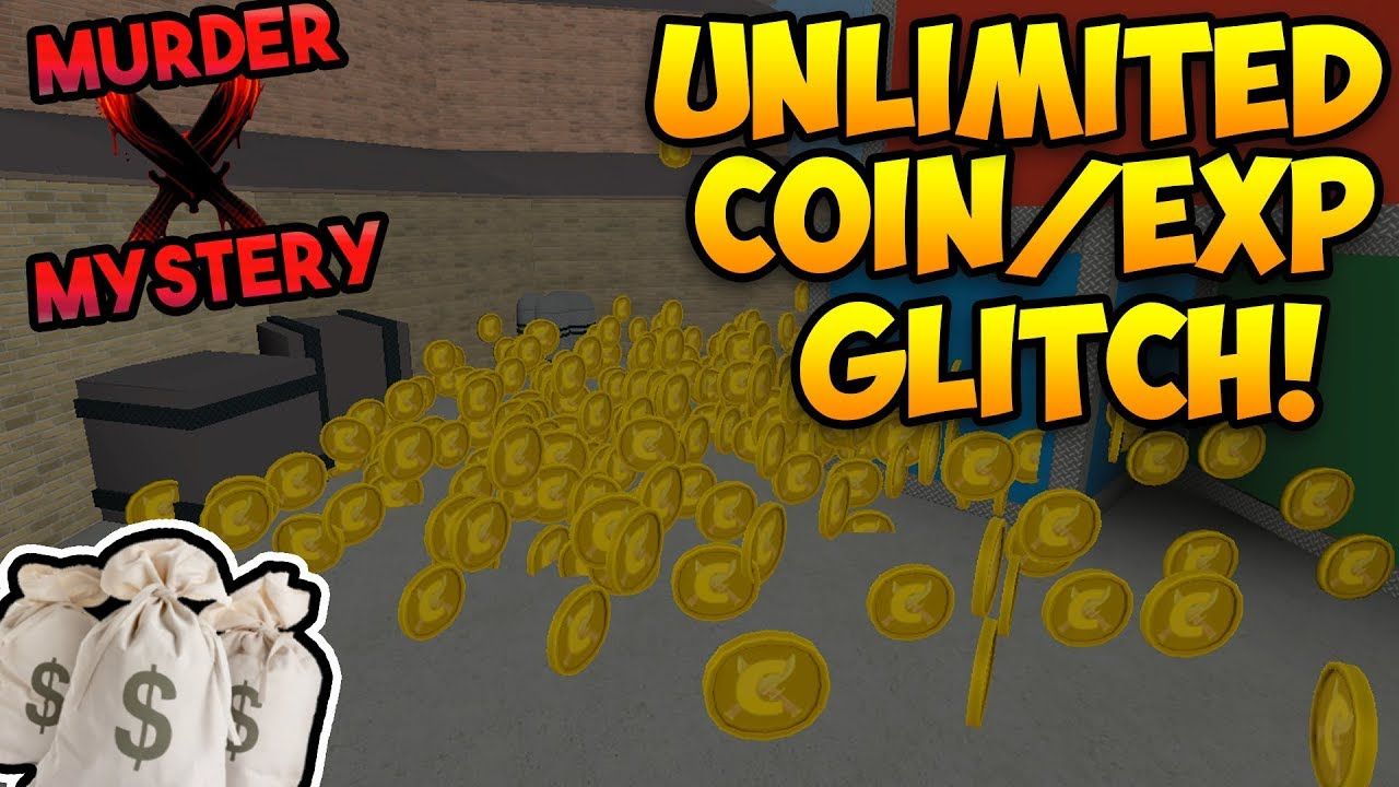 Unlimited Coin Exp Glitch Murder Mystery X Roblox Youtube