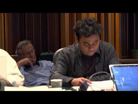 The Hundred Foot Journey: Scoring Session  Composer A. R. Rahman