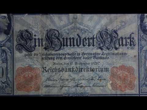 Der Flottenhunderter - die 100 Mark Reichsbanknote von 1909
