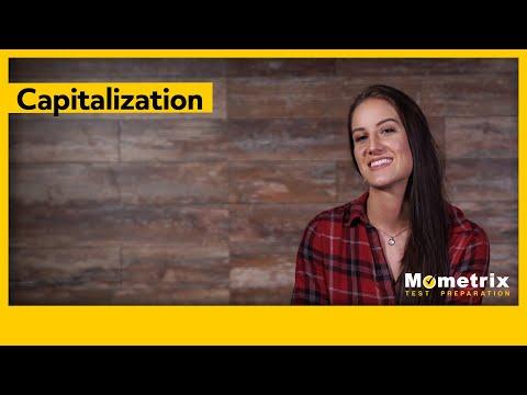 Capitalization In Grammar