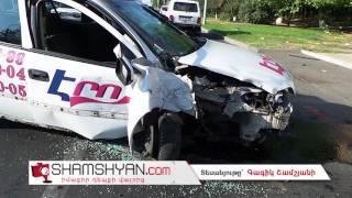 Երևանում 34 ամյա վարորդը Opel ով բախվել է էլեկտրասյանը  կա վիրավոր