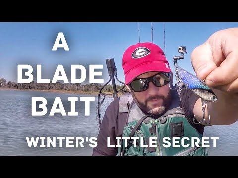 Bass Fishing With A Blade Bait - Winter Fishing's Best Kept Secret.
