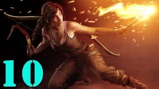 Tomb Raider(2013) Walkthrough - Part 10 - Finding The Others (1080p)