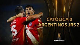 Universidad Católica vs. Argentinos [0-2]   RESUMEN   Fecha 2   CONMEBOL Libertadores 2021