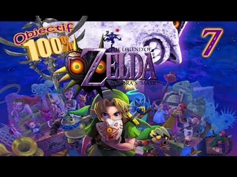 [O100%] The Legend of Zelda - Majora's Mask: Part 7: Masques et frustration