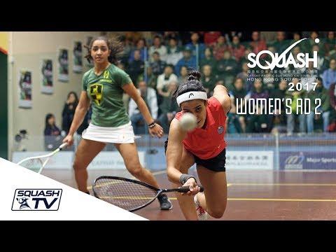Squash: Hong Kong Open 2017 - Women's Rd 2 Roundup