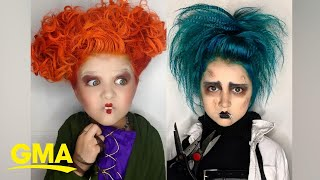 This mom's epic Halloween makeup looks are no trick