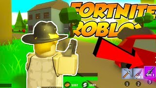 FORTNITE IN ROBLOX IS FINALLY OUT!! ISLAND ROYALE!! (Roblox Fortnite)