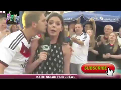 Funny Kisses To Reporters In Live Interviews