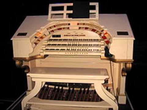 Sidney Torch an der Wurlitzer Orgel - Bugle Call Rag ca 1937