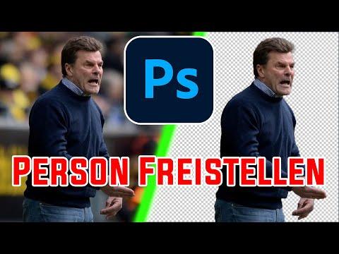 Photoshop Tutorial - Person Ausschneiden/freistellen 📐✂ [Deutsch] [HD+]
