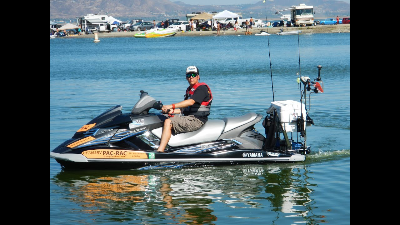 Why jet ski fishing is better than bass boat fishing pac for Jet ski fishing setup
