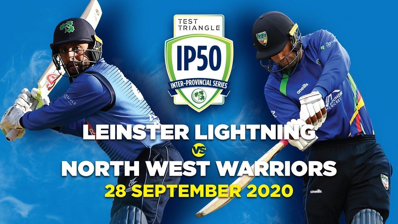 Test Triangle IP50: Leinster Lightning v North West Warriors