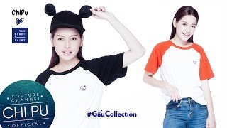 Chi Pu ra mắt BST Gấu Collection kết hợp cùng TheBlueTshirt