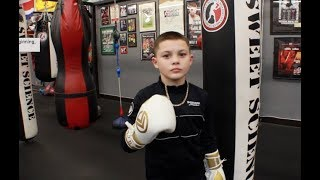 South Paw Boxing Tips from Amazing 11 yr old Boxer