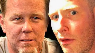 What JAMES HETFIELD thinks of COREY TAYLOR