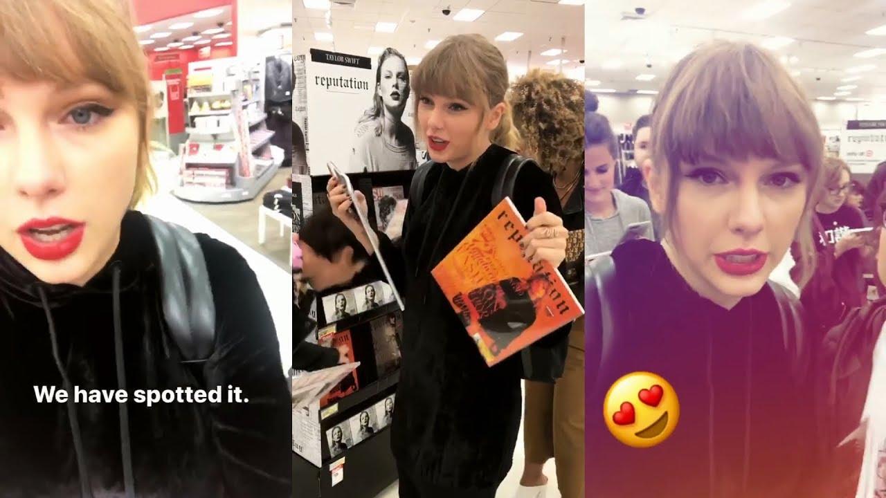 Taylor Swift Snapchat Story 14 November 2017 W Fans Youtube