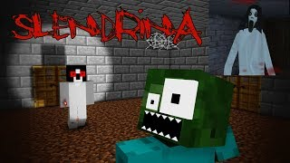 - Monster School SCARY SLENDRINA THE CELLAR CHALLENGE Minecraft Animation