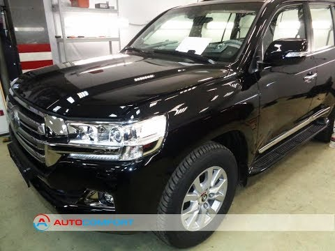 Шумоизоляция Toyota Land Cruiser 200 (2016)