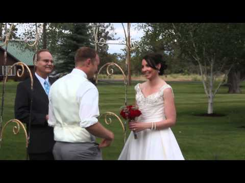 Wedding of Christina and Braden @ Triple D Ranch - 2nd Part of Ceremony