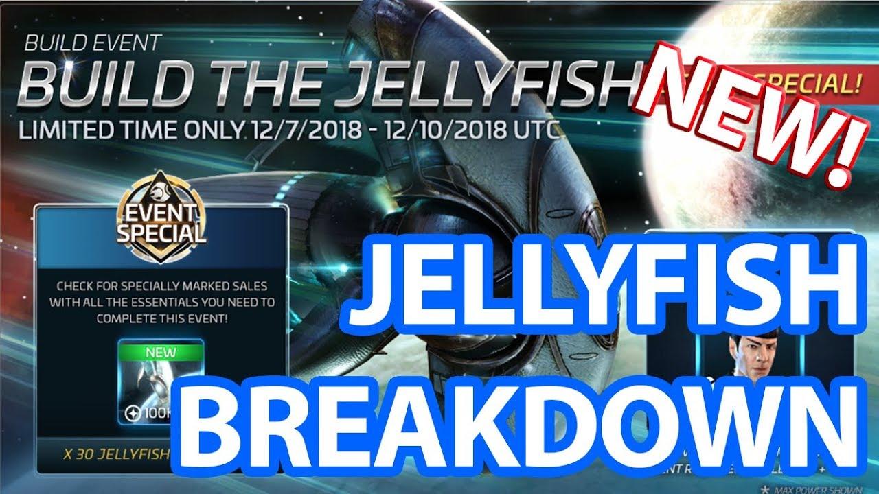 Star Trek Fleet Command - How To Build The Jellyfish Breakdown