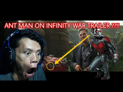 did you see ANT MAN on Avenger Infinity War Trailer ?? let me show you