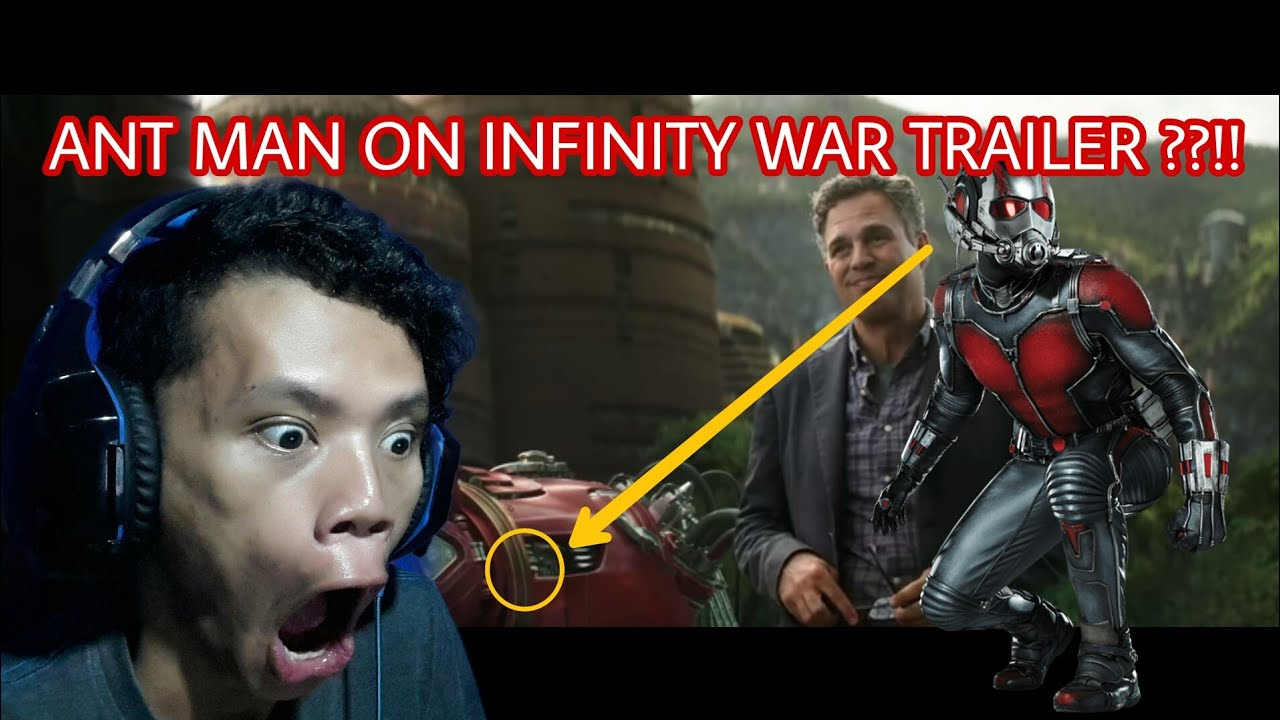 Infinity War No Ant Man