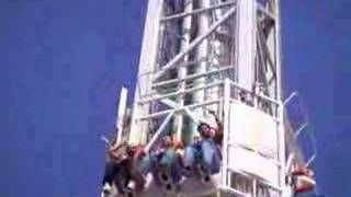 Lali Cliff hanger at flamingo land