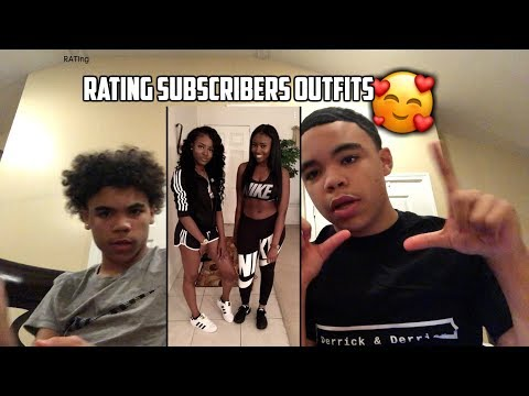 RATING OUR SUBSCRIBERS OUTFITS!!!🔥💜 (Buy Some Merch)