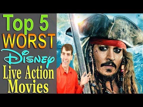 Top 5 Worst Disney Live Action Movies