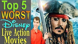 Top 5 Worst Disney Live Action Movies