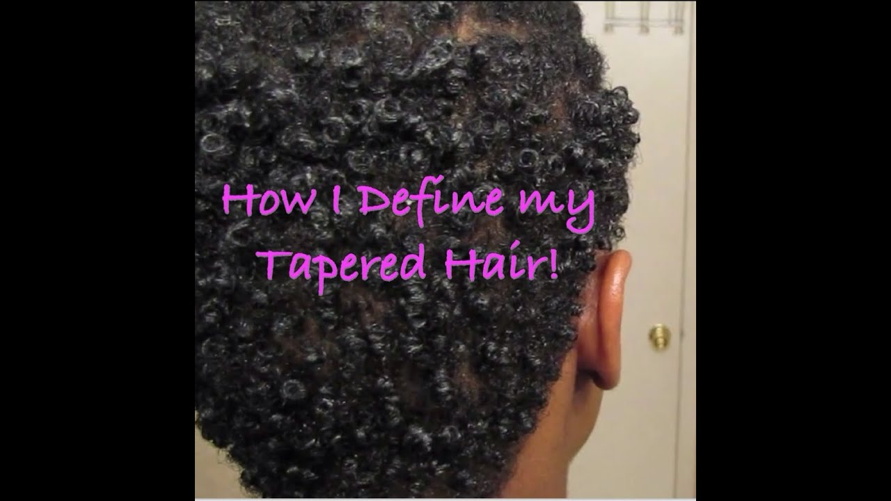 How I Define my Natural Tapered Sides and Back | MissKenK