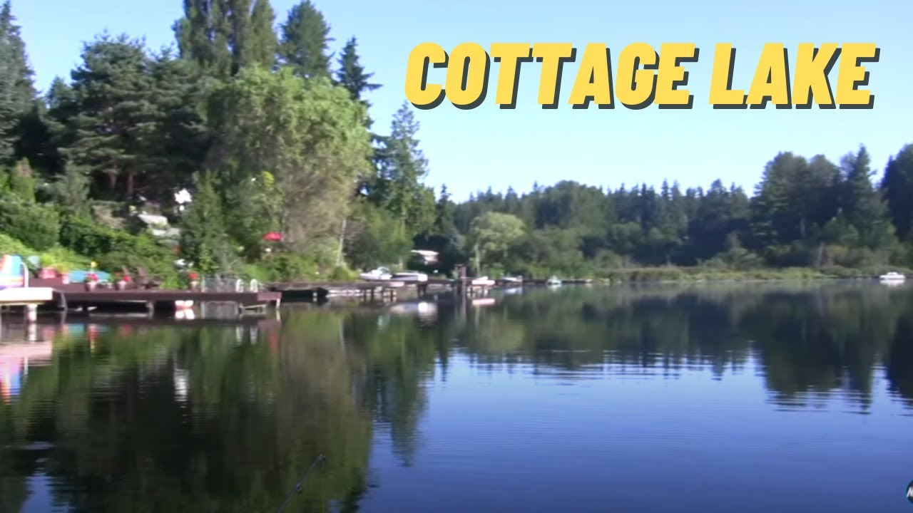 Cottage Lake In King County Youtube