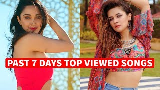 Past 7 Days Most Viewed Indian Songs on Youtube [19 October 2020]