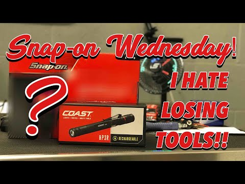 Snap-on Wednesday - One New Expensive Tool - F*ck Cancer!